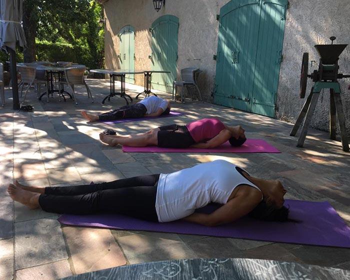 Coach en VTT et professeur de Yoga à Cogolin